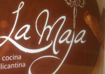 Imagen Corporativa Restaurante La Maja