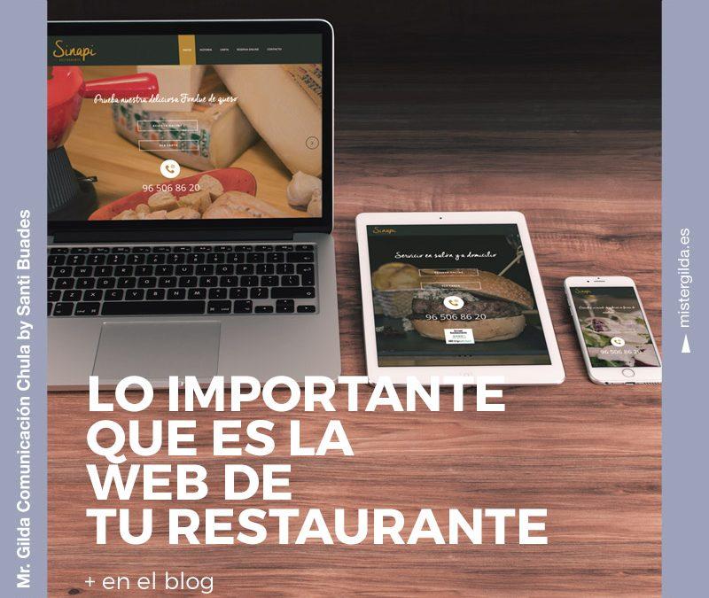 Por qué es importante la web de tu restaurante