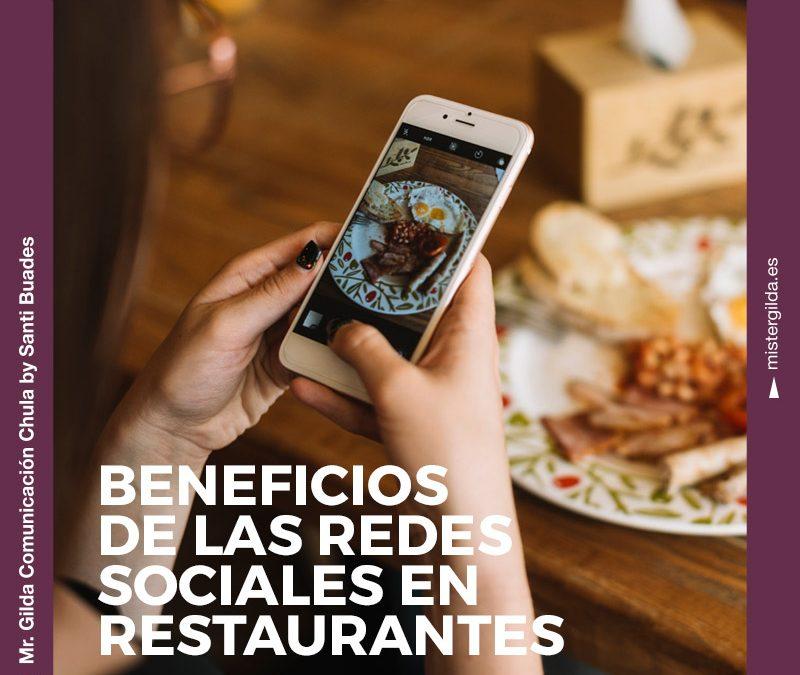 Beneficios de las Redes Sociales en tu restaurante